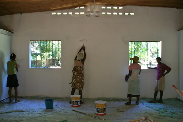 painting education room