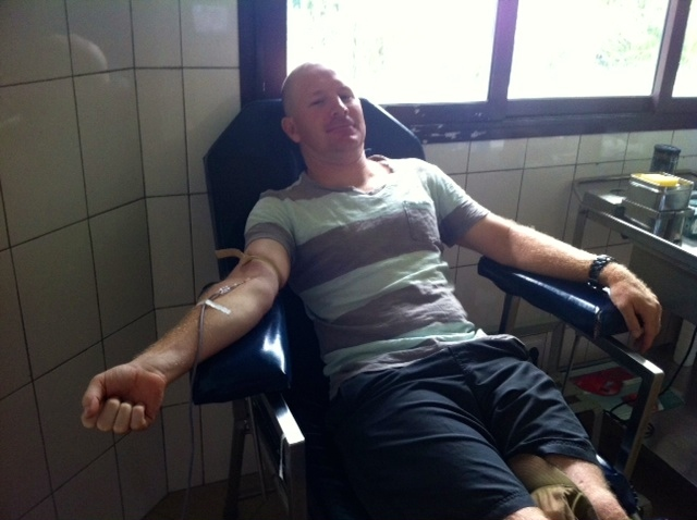 This is Madagascar– donating blood edition